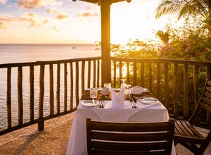 Eating in St Lucia