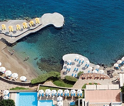 Villas at St Nicolas Bay, Crete, Greece