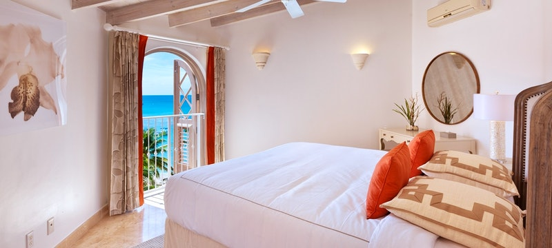 Third bedroom within the deluxe beachfront penthouse at Saint Peters Bay, Barbados