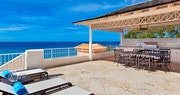Relax on your own private sun deck within the deluxe beachfront penthouse at Saint Peters Bay, Barbados