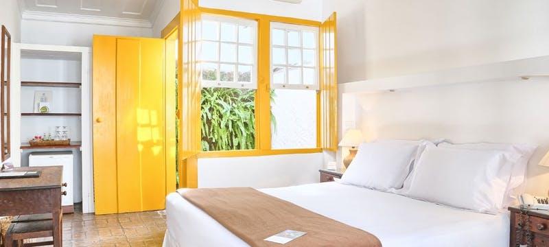 Standard bedroom at Pousada do Ouro, Brazil