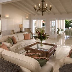Living Room at Stanford House, Barbados