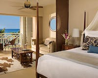 Bedroom with ocean view at Secrets St James & Secrets Wild Orchid Montego Bay, Jamaica