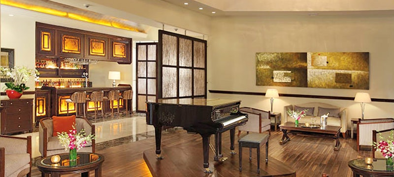 Relax in the piano lounge at Secrets St James & Secrets Wild Orchid Montego Bay, Jamaica