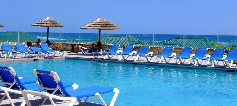 Main pool at St James's Club & Villas, Antigua