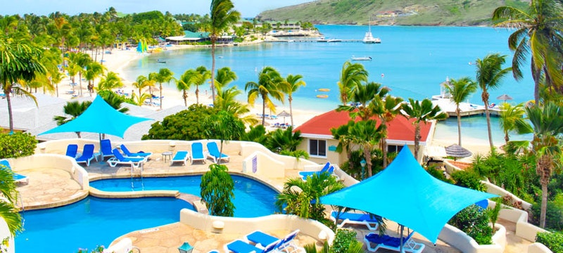 Overview of St James's Club & Villas, Antigua