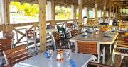 Amazing views and fresh seafood at Morgan's Pier Restaurant at St James's Club Morgan Bay