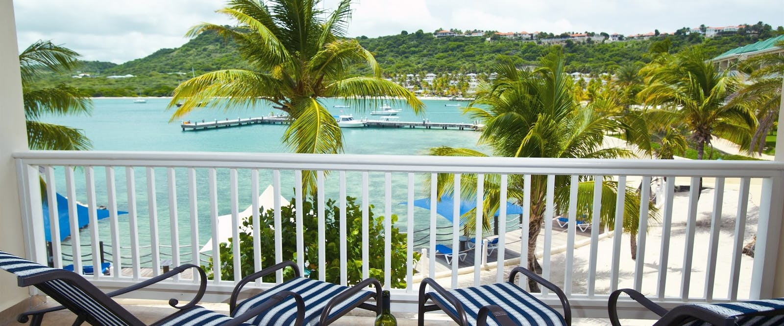 Exterior View of the Main Swimming Pool at St James's Club & Villas, Antigua