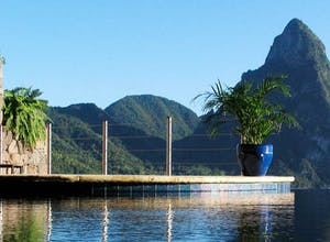 The luxury of Saint Lucia