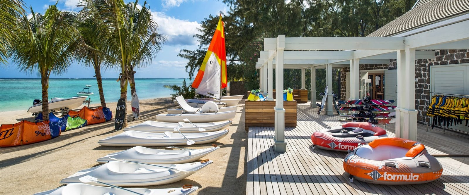 Watersport club at The St. Regis Mauritius Resort