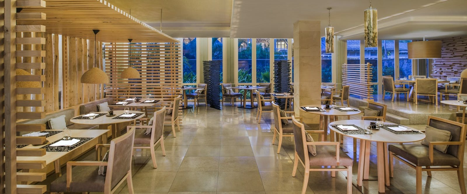 Atsuko restaurant at The St. Regis Mauritius Resort