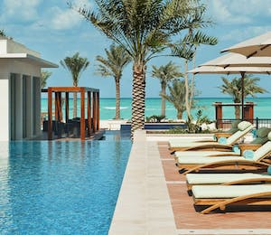 Swimming pool at The St. Regis Saadiyat Island Resort, Abu Dhabi