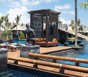 lagoon pool at The St Regis Bali Resort