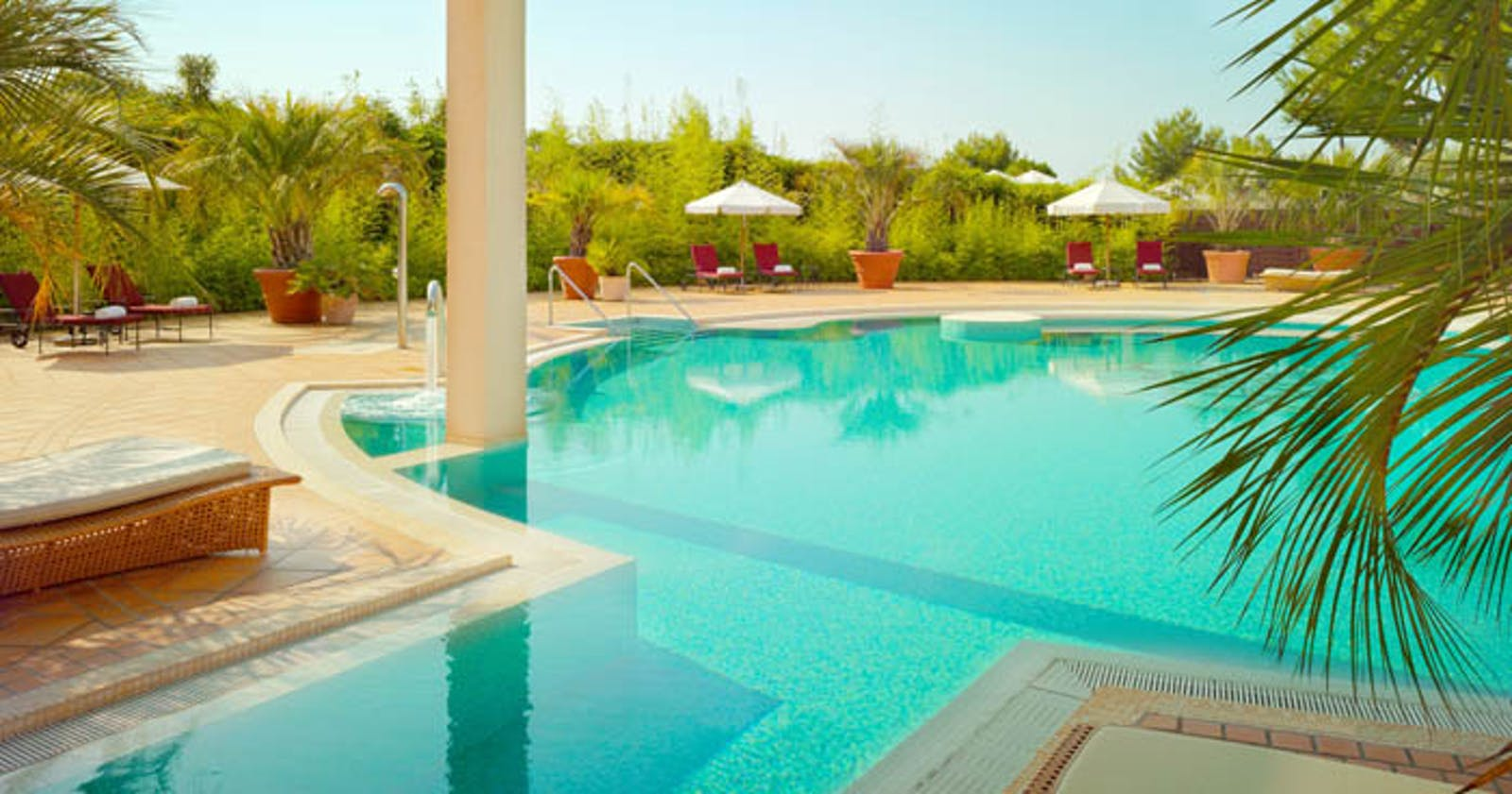 Swimming Pool at The St Regis Mardavall Mallorca Resort, Spain