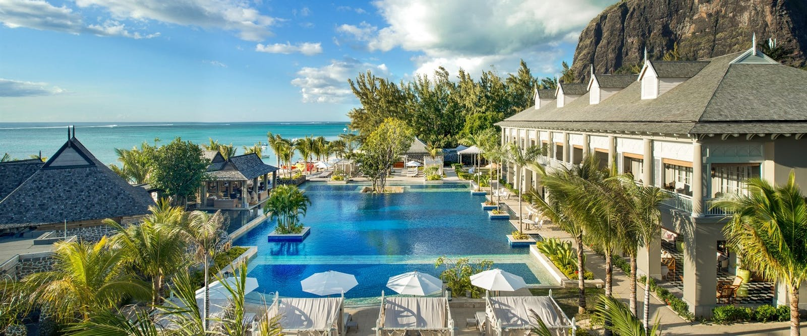 Swimming pool at The St. Regis Mauritius Resort