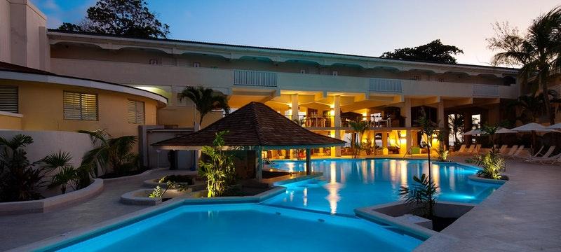 Main pool area at Sugar Bay Barbados