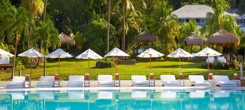 Pool at Sugar Beach, A Viceroy Resort
