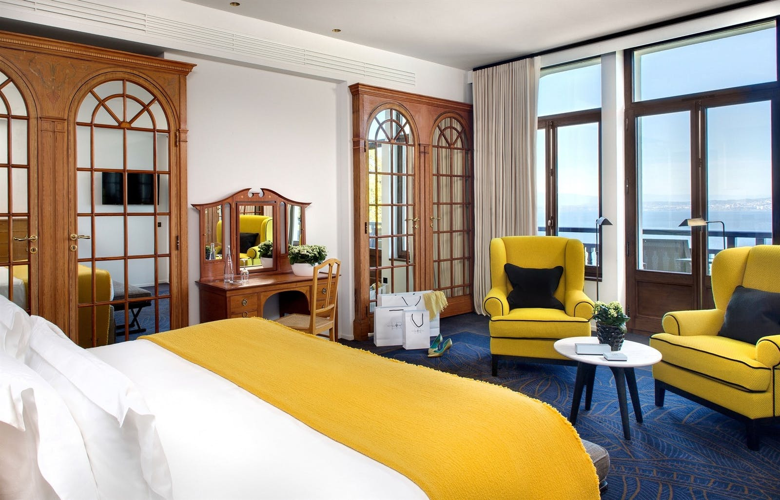 Belle Epoque Suite, Hotel Royal, Evian Resort, Lake Geneva, France