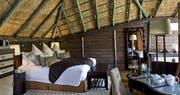Interior of chalet at Serena Mivumo River Lodge