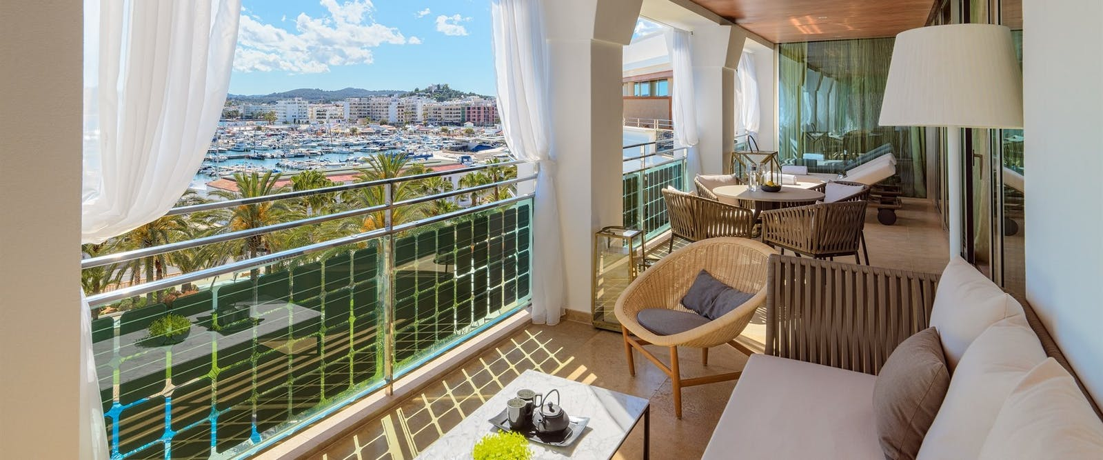 Terrace Suite at Hotel Aguas de Ibiza, Spain