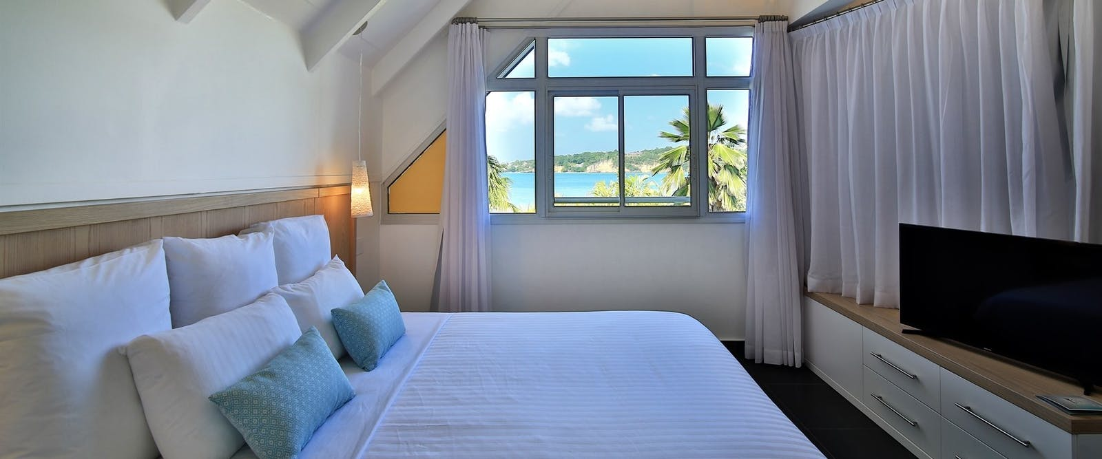 Suite Bedroom At Mahogany Hotel Residencia & Spa, Guadeloupe