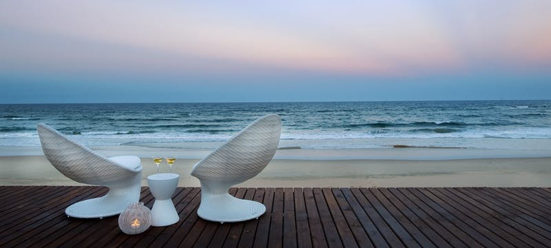 Sun downers at White Pearl Resort