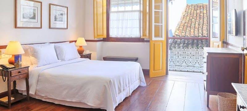 Superior bedroom at Pousada do Ouro, Brazil