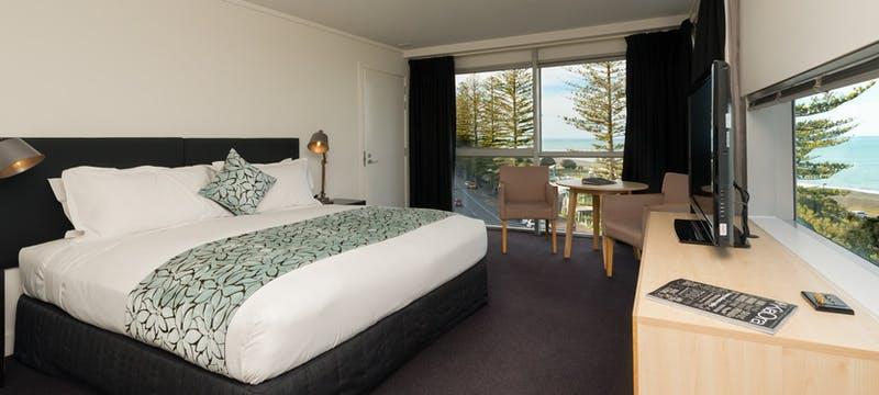 Superior King Bedroom at Scenic Hotel Te Pania, Napier & Hawke's Bay
