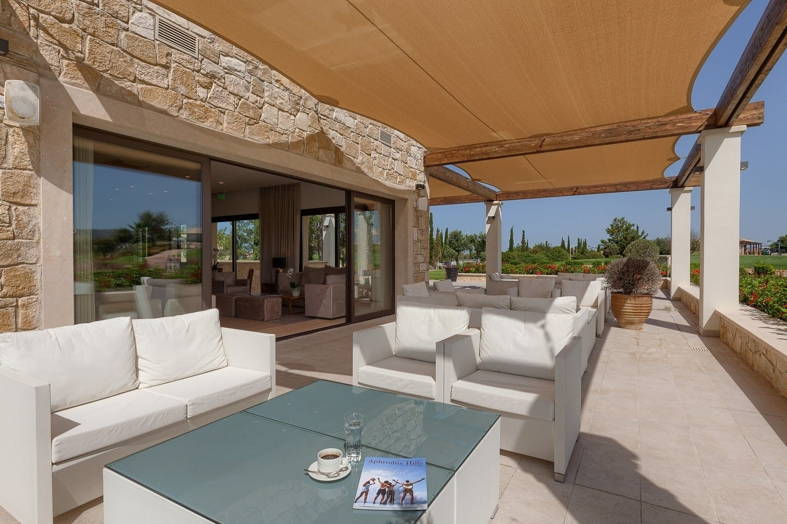 Guest Lounge at at Aphrodite Hills Villas & Apartments Gold Course, Cyprus