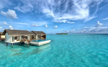 Two-Bedroom Water Pool Villa at The Residence Maldives, Indian Ocean