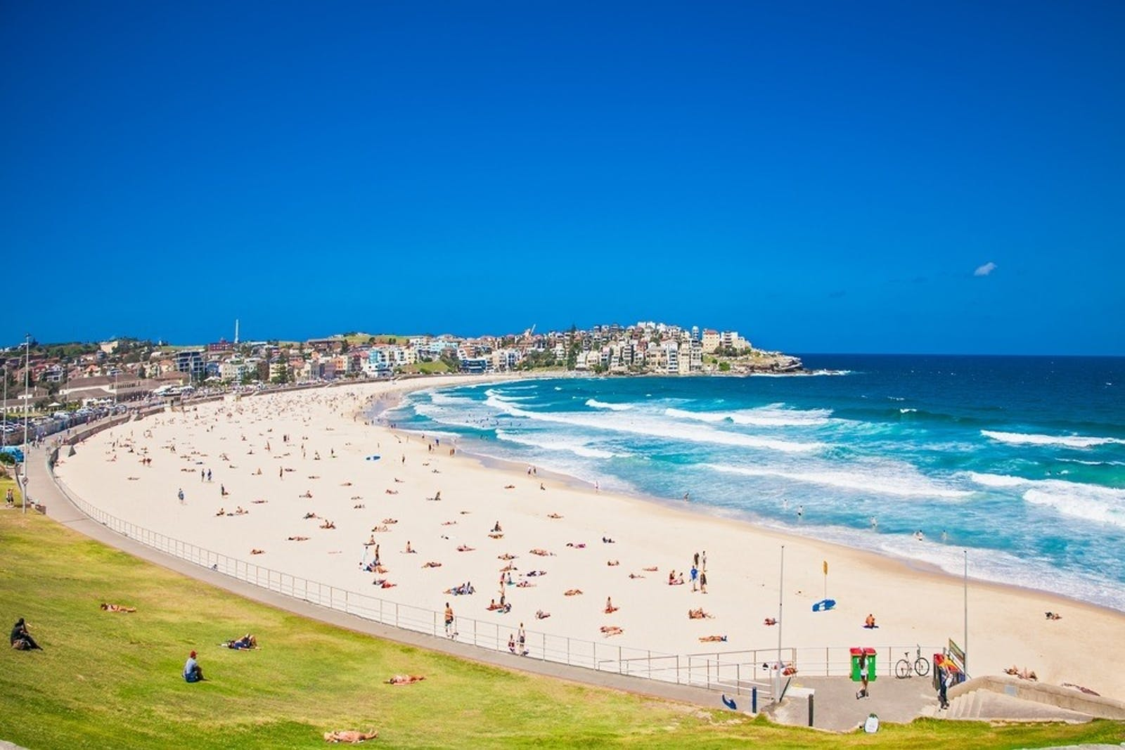 bondi beach sydney new south wales australia