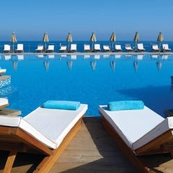 Swimming pool, The Royal Blue, Crete