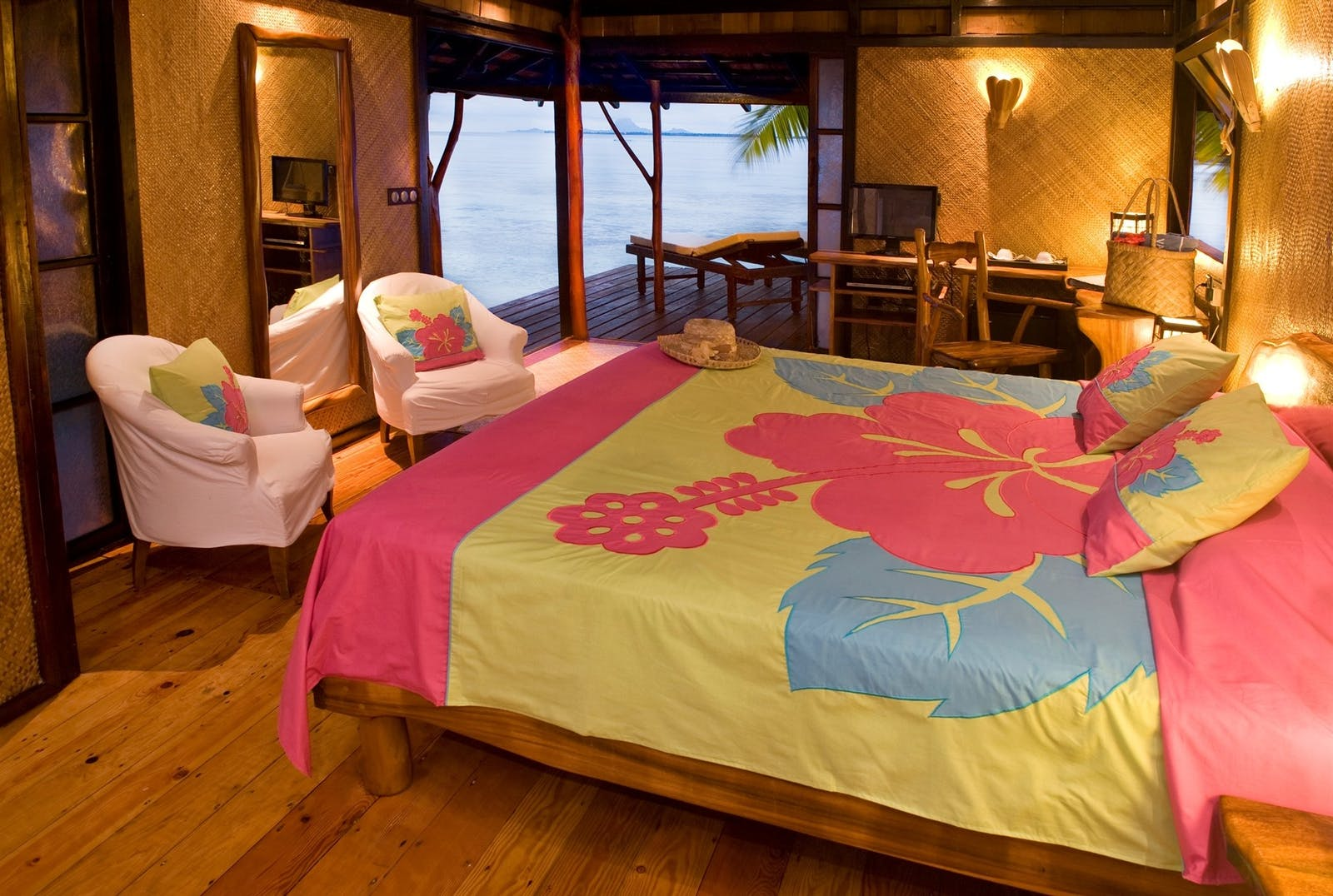 Beach Bungalow at Vahine Private Island Resort & Spa, French Polynesia