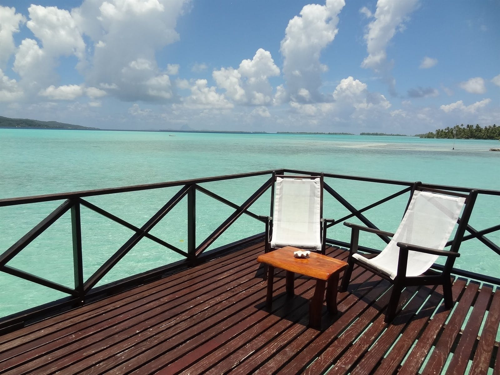 Overwater Bungalow at Vahine Private Island Resort & Spa, French Polynesia