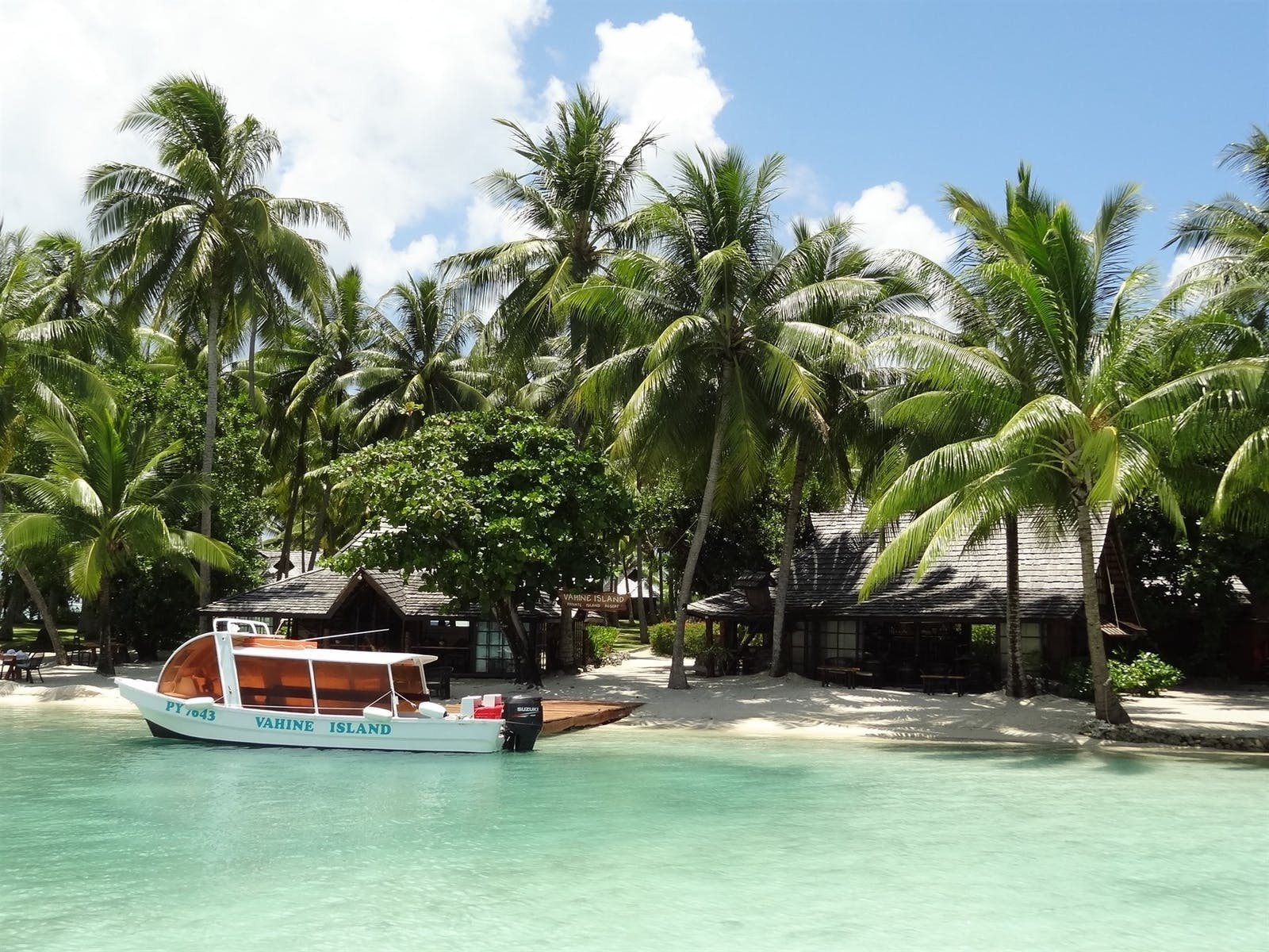 Exterior View of Vahine Private Island Resort & Spa, French Polynesia