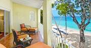 Junior Suite balcony with ocean view at Tamarind by Elegant Hotels, Barbados