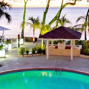 Pool area at Tamarind by Elegant Hotels, Barbados