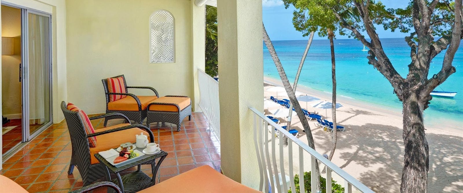 One Bedroom Suite Ocean Front at Tamarind by Elegant Hotels, Barbados