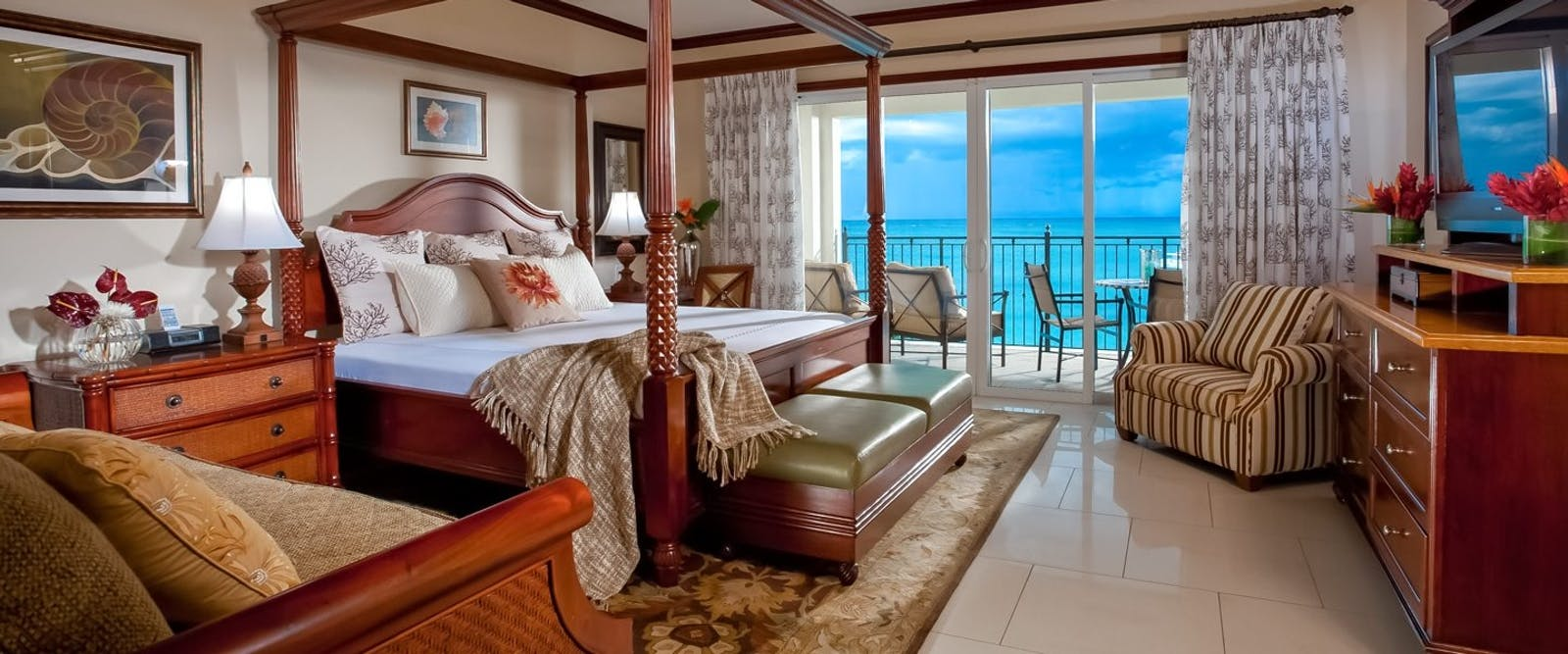 Italian Beachfront Two Bedroom Suite at Beaches Turks & Caicos Resort Villages & Spa
