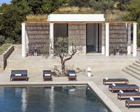 Four Bedroom Villa Pool at Amanzoe, Peloponnese, Greece