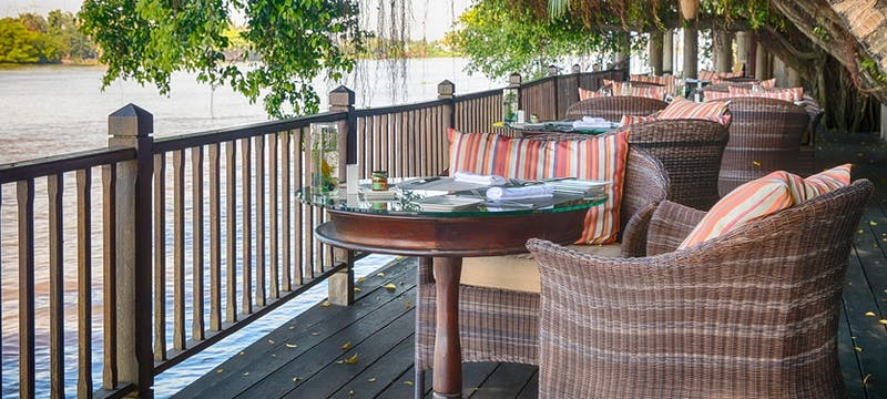 Terrace at An Lam Retreats Saigon River