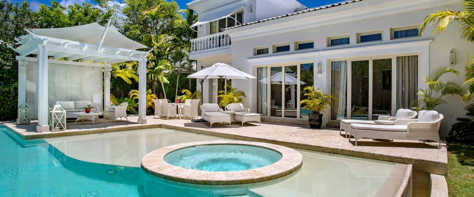 Three Bedroom Royale Villa Swimming Pool at Eden Roc at Cap Cana Boutique Suites & Beach Club, Dominican Republic