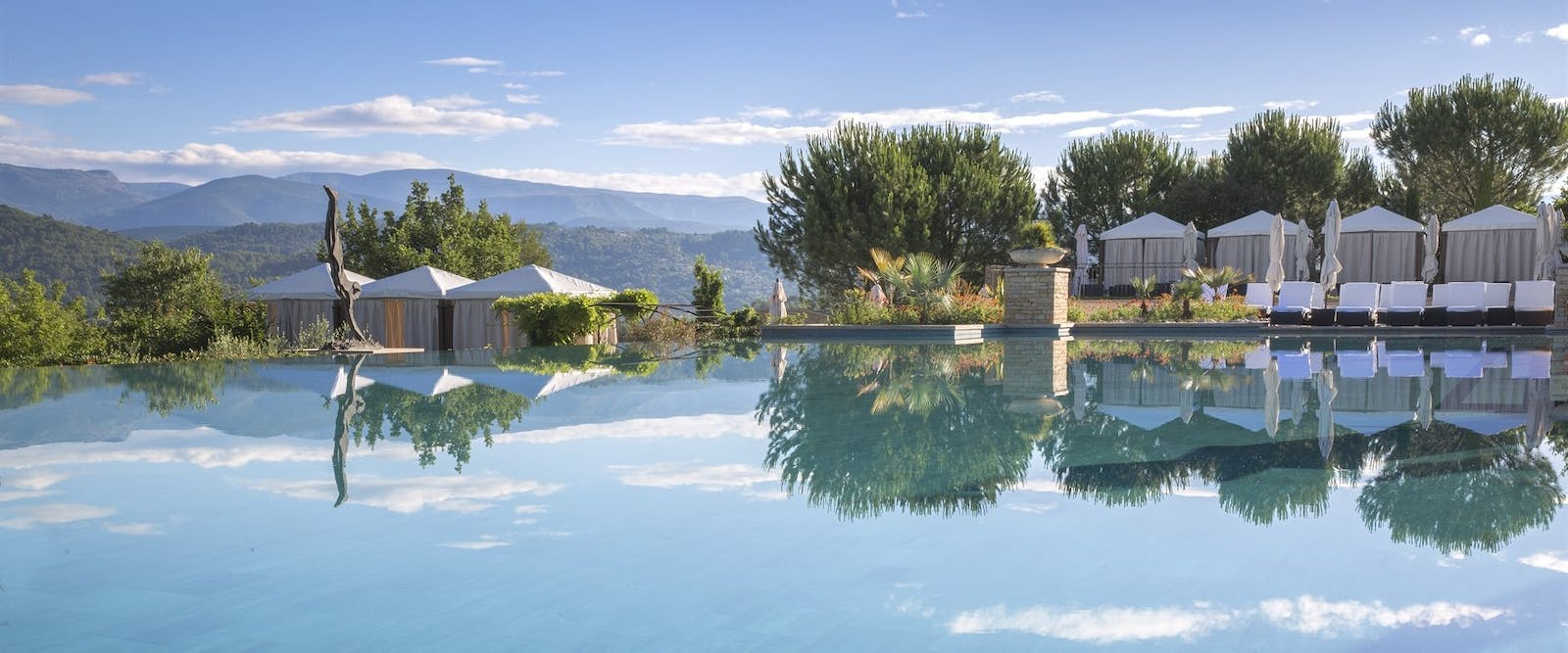 Pool at Terre Blanche Hotel Spa Golf Resort, Provence, France
