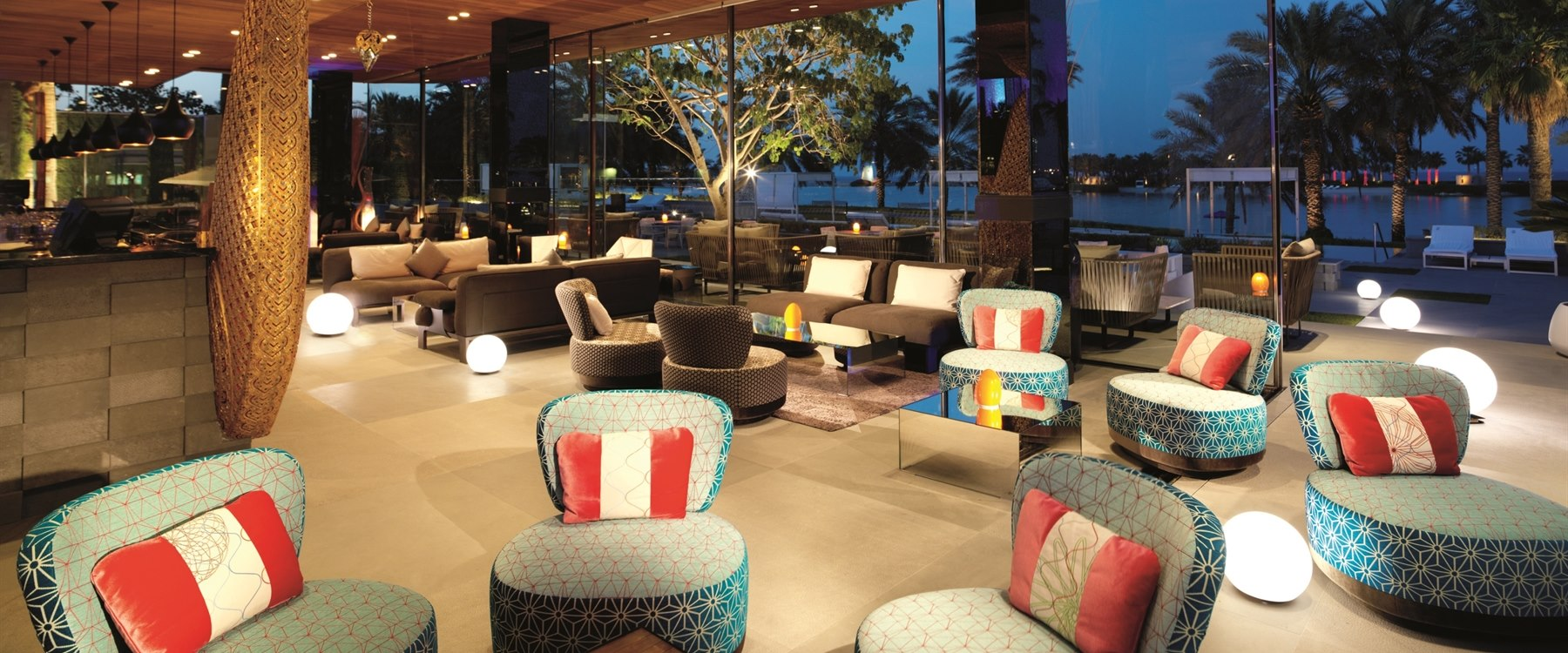 Thai Lounge at The Ritz Carlton Bahrain Hotel Villas and Spa