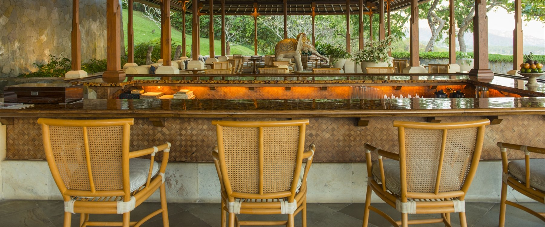 The Bar at Amankila, Bali
