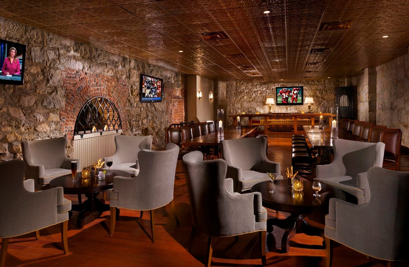 The Cave Lounge at Omni Mount Washington Resort