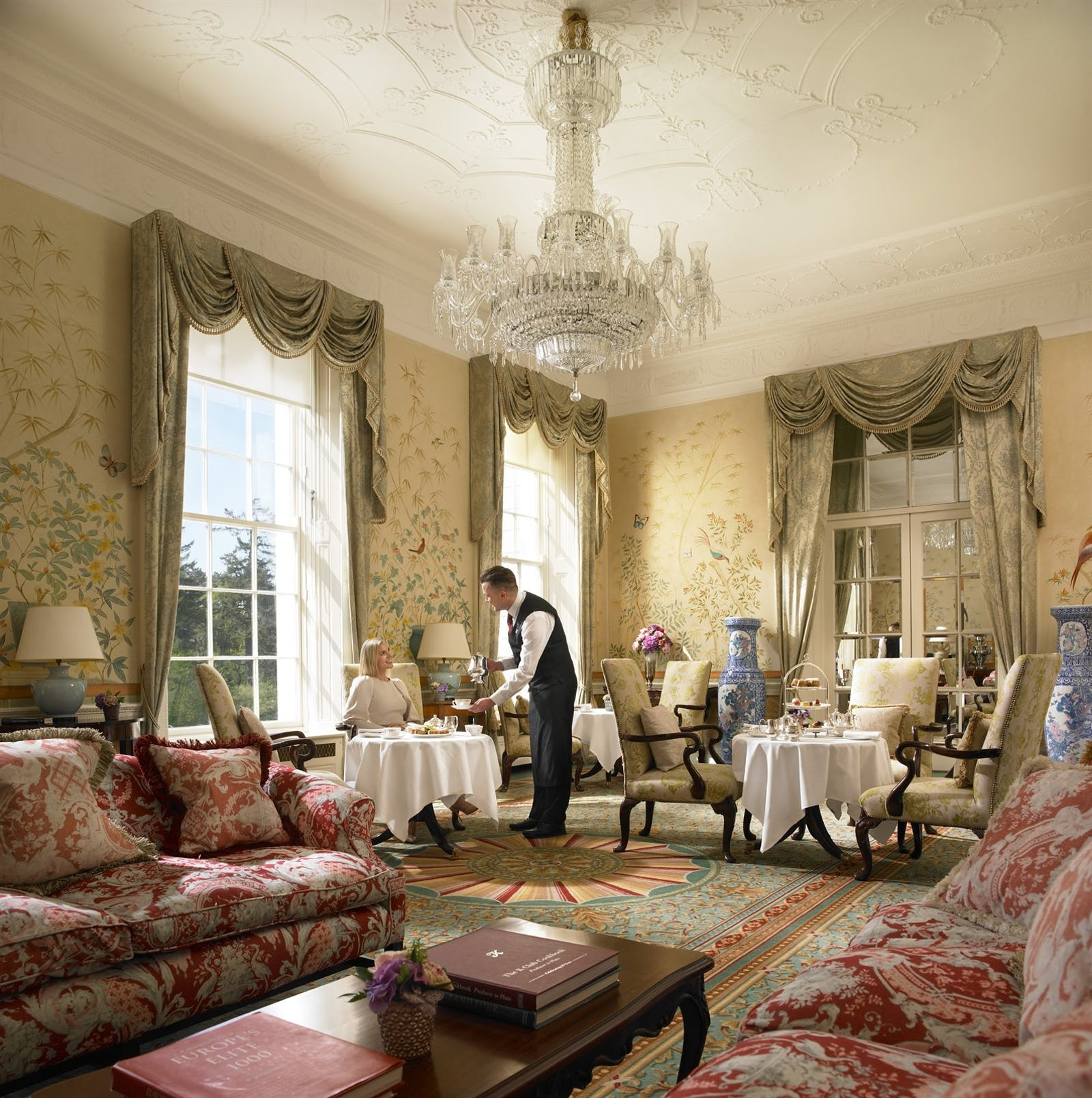 The Chinese Drawing Room at The K Club Hotel, Ireland