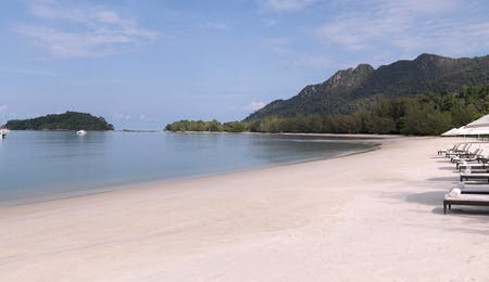 Beach at The Danna Langkawi