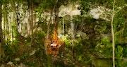 Garden of Eden private dining at Eden Roc at Cap Cana Boutique Suites & Beach Club