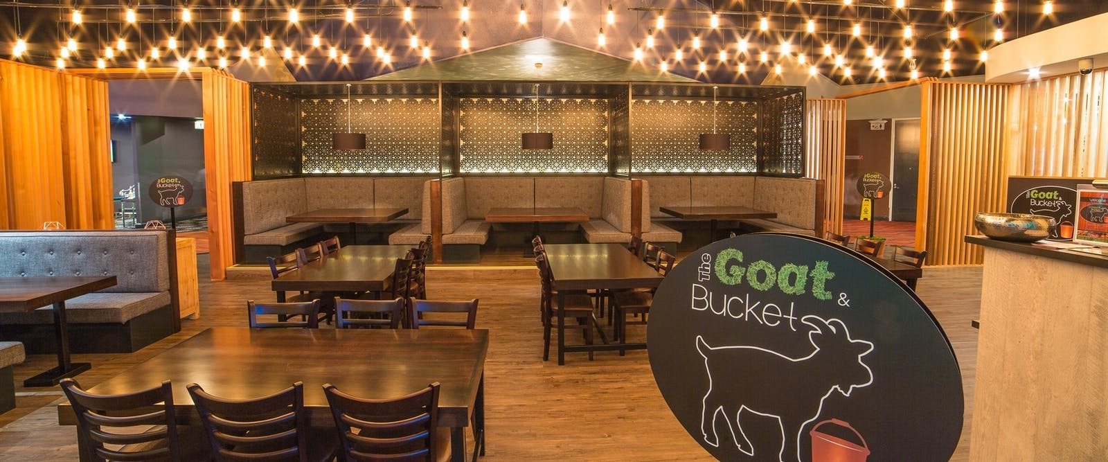 The goat and bucket restaurant at Crowne Plaza Alice Springs Lasseters, Australia